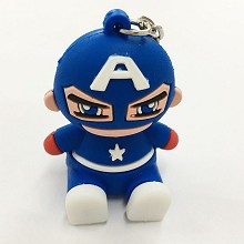 Captain America key chain Mobile phone bracket