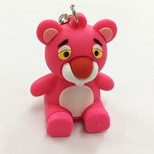 Pink Panther key chain Mobile phone bracket