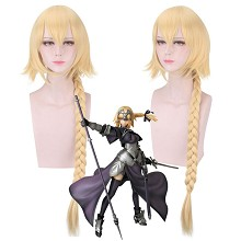 Fate Apocrypha Ruler anime cosplay wig