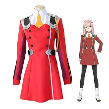 DARLING in the FRANXX Code:002 anime cosplay costu...