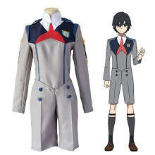 DARLING in the FRANXX Code:016 anime cosplay costu...