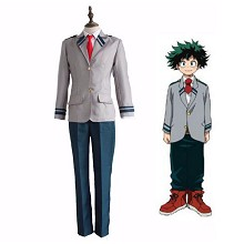 My Hero Academia anime cosplay costume cloth dress