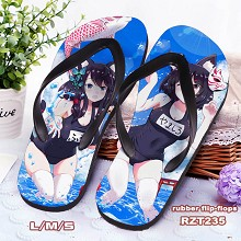 Azur Lane flip-flops shoes slippers a pair
