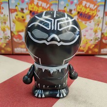 Doraemon cos Black Panther anime figure