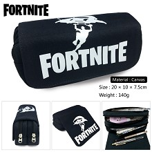 Fortnite canvas pen bag pencil bag
