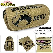 My Hero Academia anime canvas pen bag pencil bag