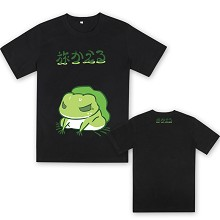 Travel Frog anime cotton t-shirt