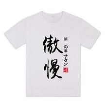 The Seven Deadly Sins anime cotton t-shirt
