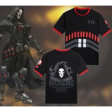 Overwatch Reaper cotton t-shirt