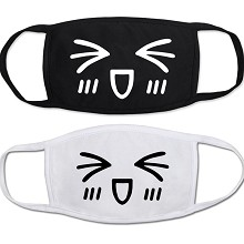 The other cartoon anime masks set(2pcs a set)