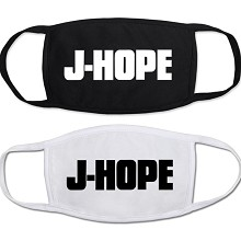 Star BTS J-HOPE masks set(2pcs a set)