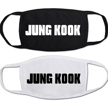 Star BTS JUNG-KOOK masks set(2pcs a set)