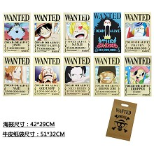 One Piece anime posters set(10pcs a set)