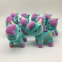 4.8inches little twin star plush dolls set(10pcs a...