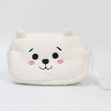 BTS plush wallet coin purse 200*130MM
