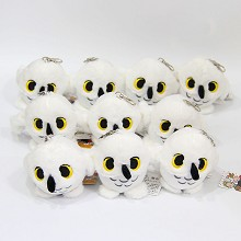 4inches Strigiformes plush dolls set(10pcs a set)