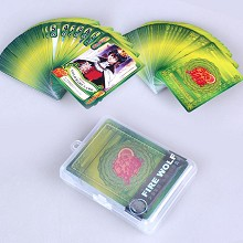 The Prince of Tennis anime pokers playing cards