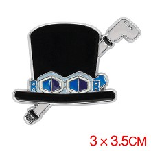 One Piece Sabo anime brooch pin
