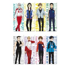 YURI on ICE anime pvc bookmarks set(5set)