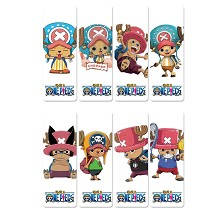One Piece Chopper anime pvc bookmarks set(5set)