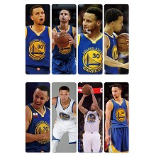 Stephen Curry pvc bookmarks set(5set)
