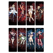 The Seven Deadly Sins anime pvc bookmarks set(5set)