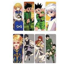 HUNTER×HUNTER anime pvc bookmarks set(5set)