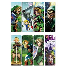 The legend of Zelda pvc bookmarks set(5set)