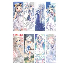 AnoHana anime pvc bookmarks set(5set)
