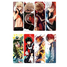 My Hero Academia anime pvc bookmarks set(5set)