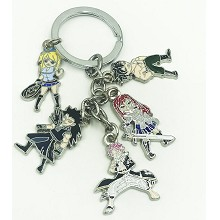 Fairy Tail anime key chain