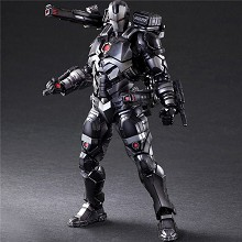 Play Arts War Machine Iron Man figure