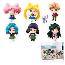 Sailor Moon 20th anime figures set(6pcs a set)