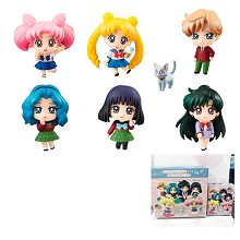 Sailor Moon 20th anime figures(6pcs a set)randon c...