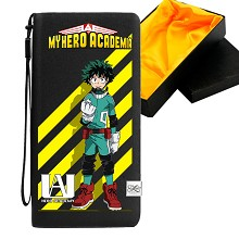 My Hero Academia anime long wallet