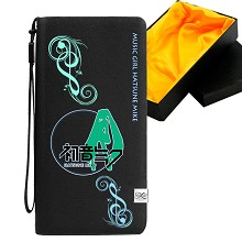 Hatsune Miku anime long wallet