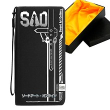Sword Art Online anime long wallet