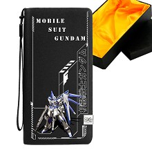 Gundam anime long wallet