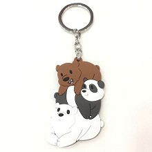 We Bare Bears key chain
