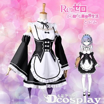 Re:Life in a different world from zero cosplay cloth costume dress