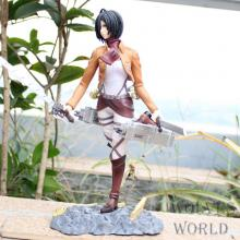 Attack on Titan Mikasa anime figure