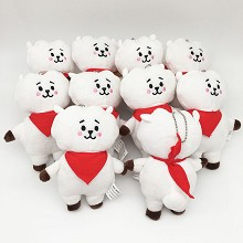 5.5inches BTS plush dolls set(10pcs a set)