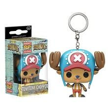 Funko POP One Piece chopper figure doll key chain