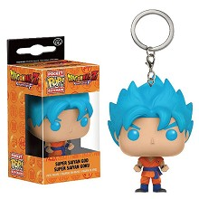 Funko POP Dragon Ball Goku anime figure doll key chain