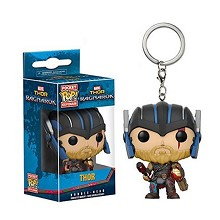 Funko POP Thor anime figure doll key chain
