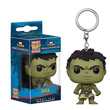 Funko POP Hulk figure doll key chain