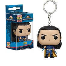 Funko POP Loki anime figure doll key chain