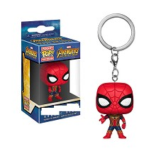 Funko POP Spider man anime figure doll key chain