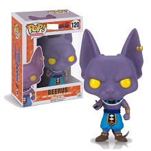 Funko POP 120 Dragon Ball Beerus anime figure