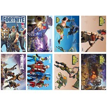 Fortnite posters set(8pcs a set)
